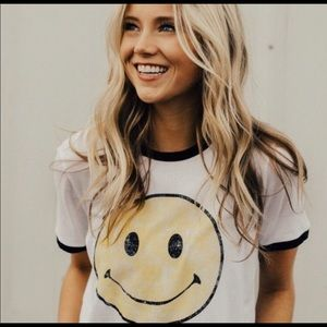 ROOLEE Smiley Tee Shirt